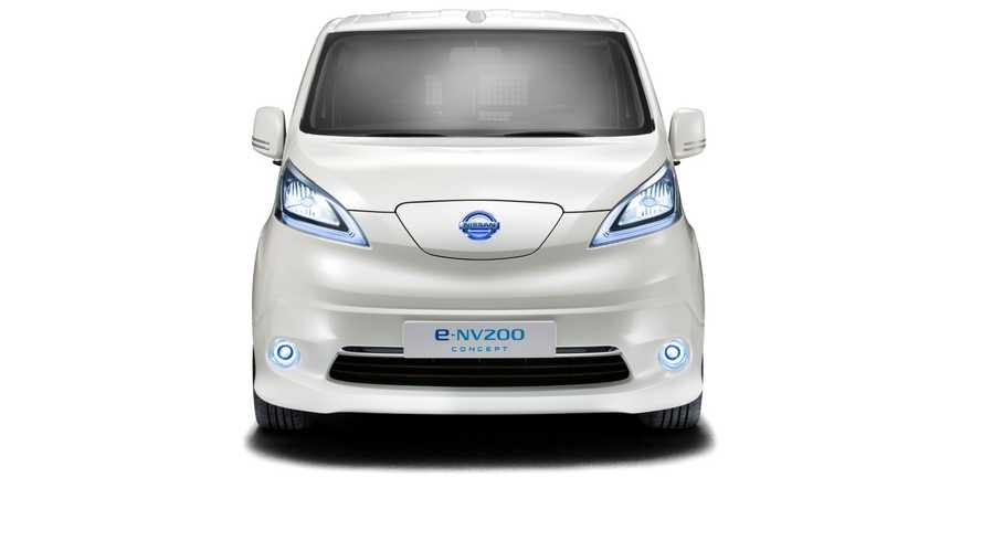 Nissan e-NV200 Electric Van Nears Production, Panel Version Debuts