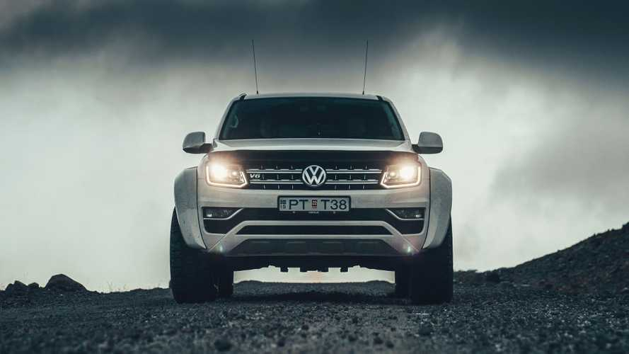 Arctic Trucks Modifiyeli Volkswagen Amarok AT35