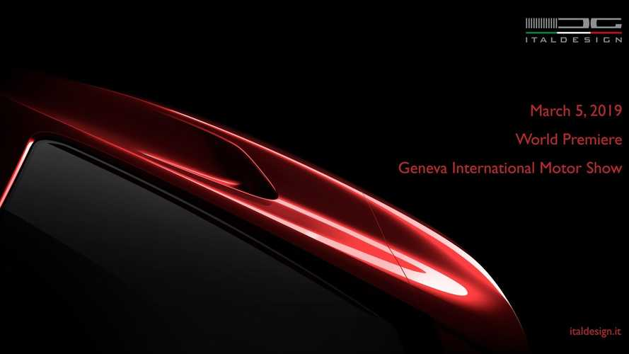 Italdesign yeni model teaser'ları