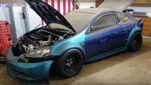Twin-Engined Acura RSX With LS