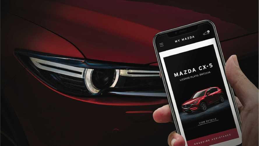 My Mazda, l'App che ti ricorda quando fare il tagliando
