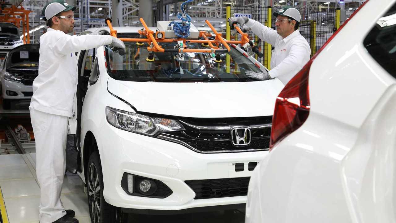 Honda - Fábrica em Itirapina (SP)