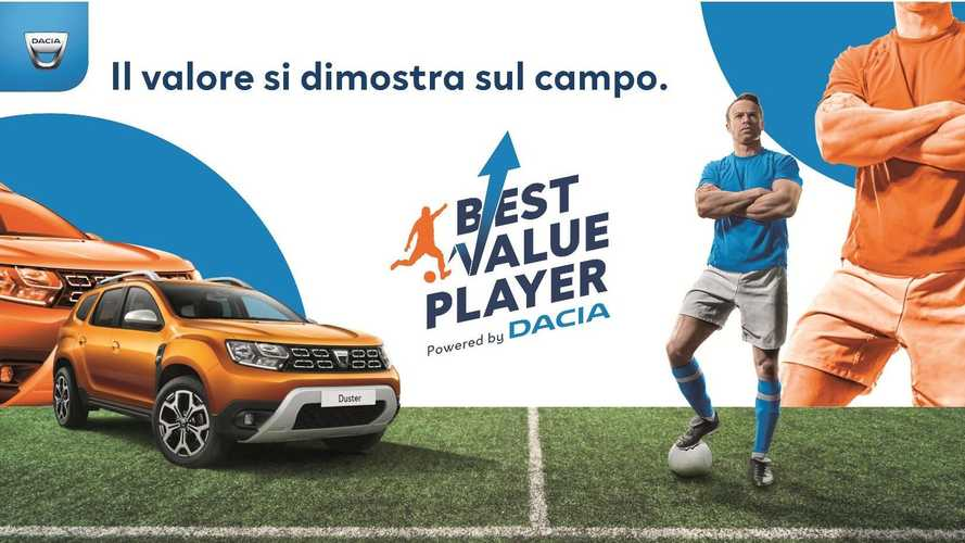 Dacia premia calciatori e tifosi con un concorso che fa emergere il bello del calcio