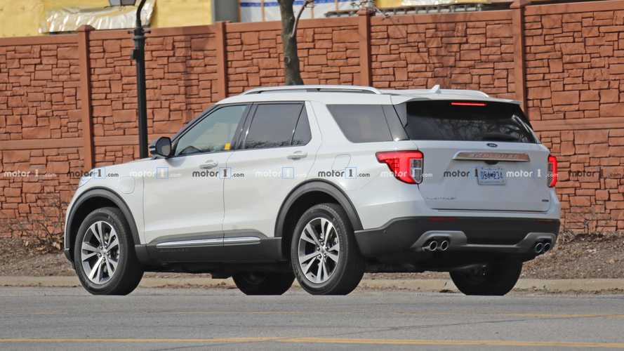 Ford Explorer Plug-In Hybrid Spied In Public