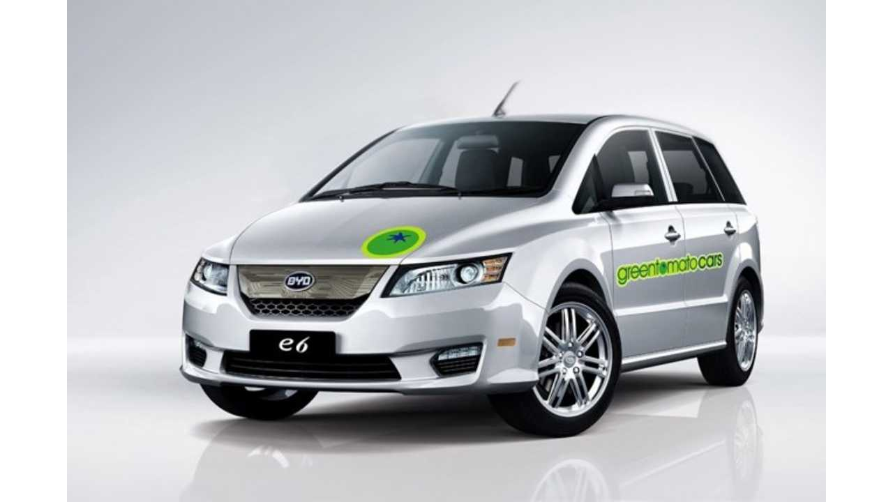 Green Tomato Cars Backs Out of Electric Taxi Deal in London