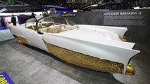Goldenes Konzept Sahara II Genf