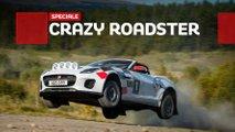 jaguar f type rally prova speciale