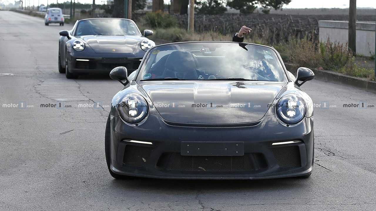 Porsche 911 Speedster Spy Shots