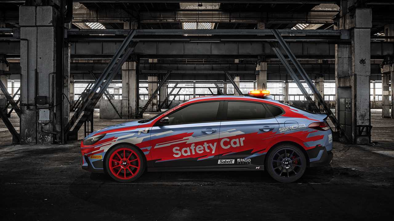 Hyundai i30 Fastback N - 2019 WorldSBK biztonsági autó