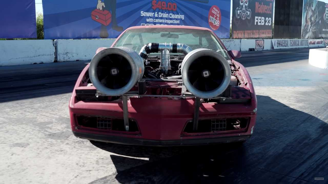 Pontiac Firebird With Homemade Turbos