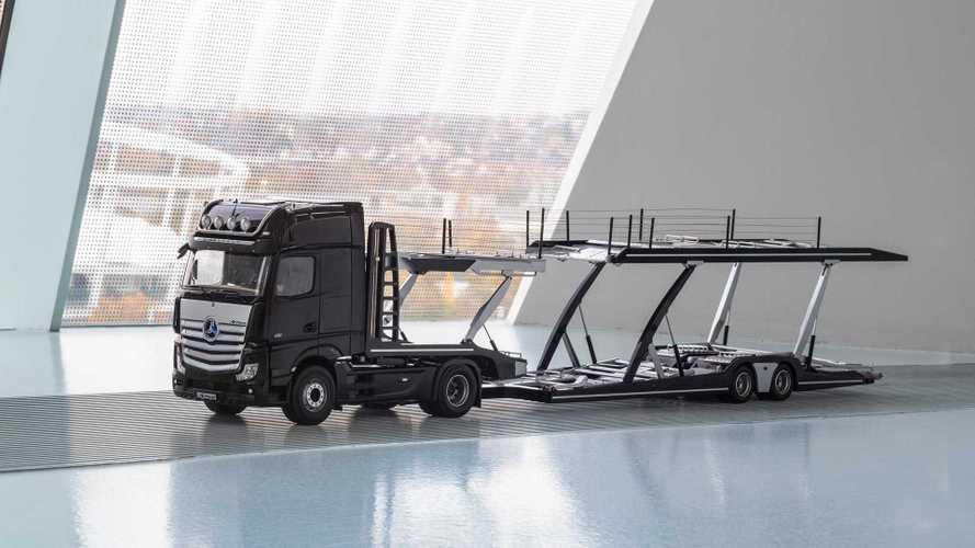 Camión Mercedes-Benz Actros para coches a escala