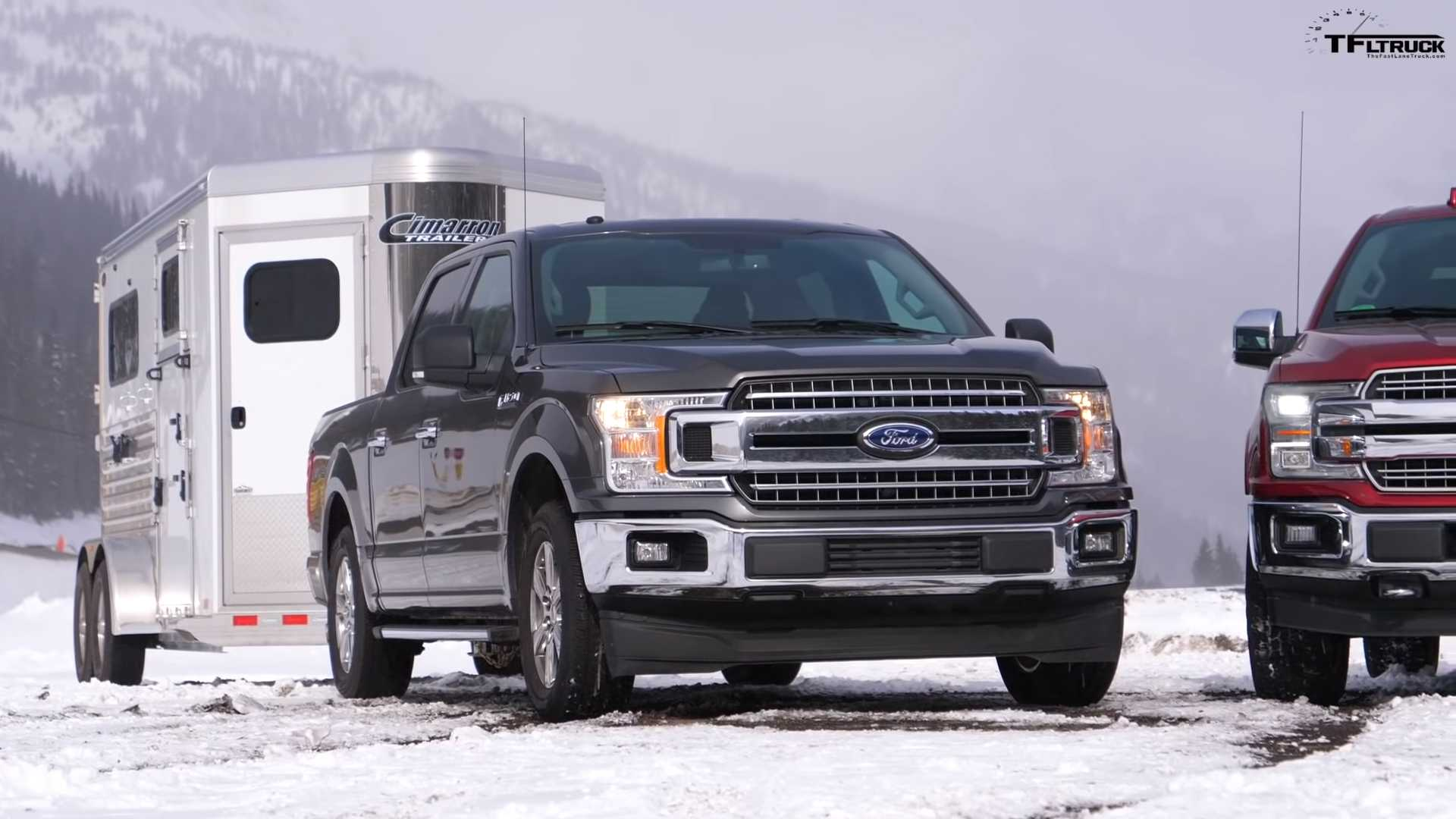 Ford F-150 Towing Test Pits EcoBoost V6 Against Coyote V8