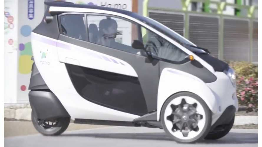 Consumer Trials of Toyota i-Road Now Underway in Tokyo