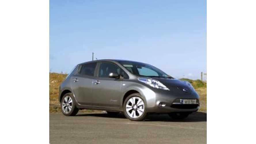 Nissan LEAF Test Drive Review In Ireland - Video