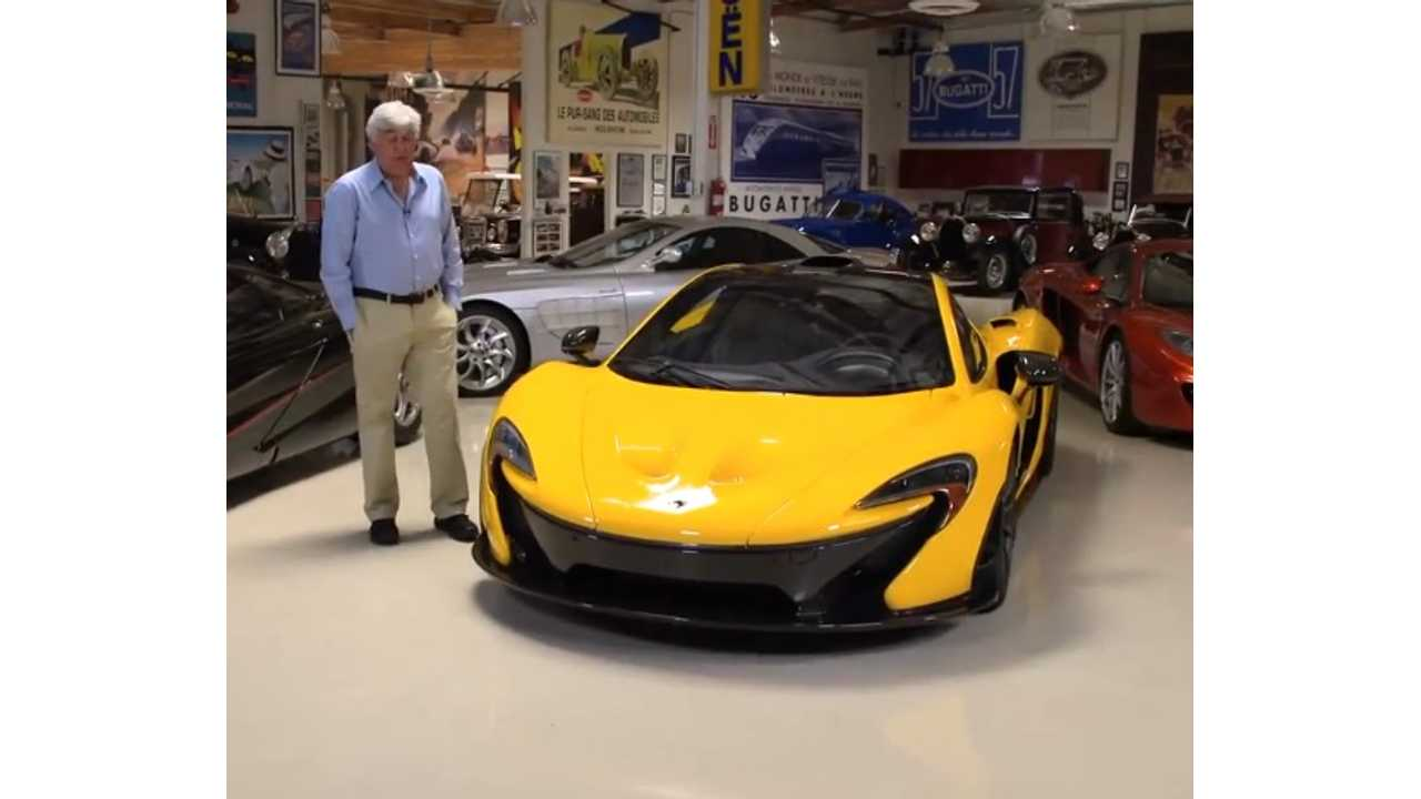 Jay Leno Gets First McLaren P1, Drives The Heck Out Of It On Normal Roads - video