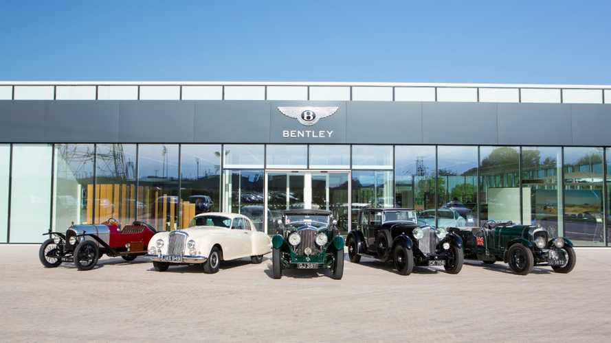 Check Out Bentley's Centenary Events Taking Place This Year