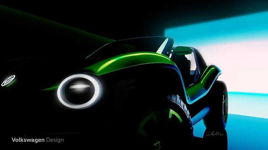 Volkswagen Dune Buggy concept, il teaser