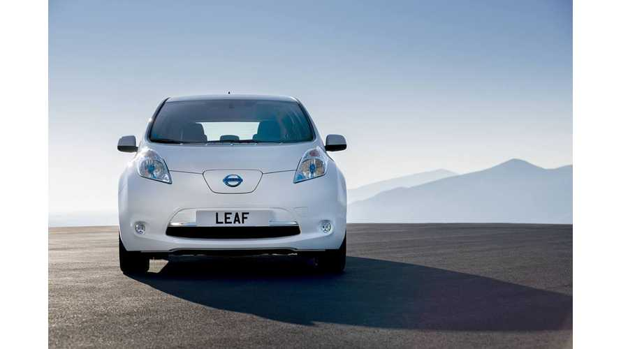 In 4 US Cities, LEAF Outsells All Other Nissan Models