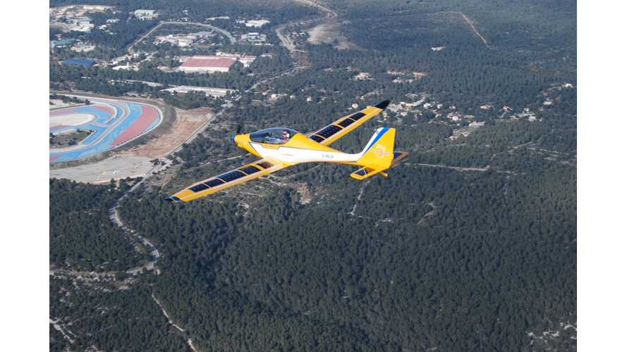SolarWorld e-One is an Electric Plane with Over 600 Miles of Range