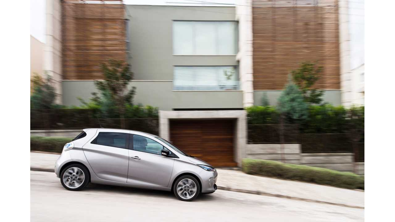 Renault Zoe Seems to Be On Track to Duplicate Its French Domination in Germany