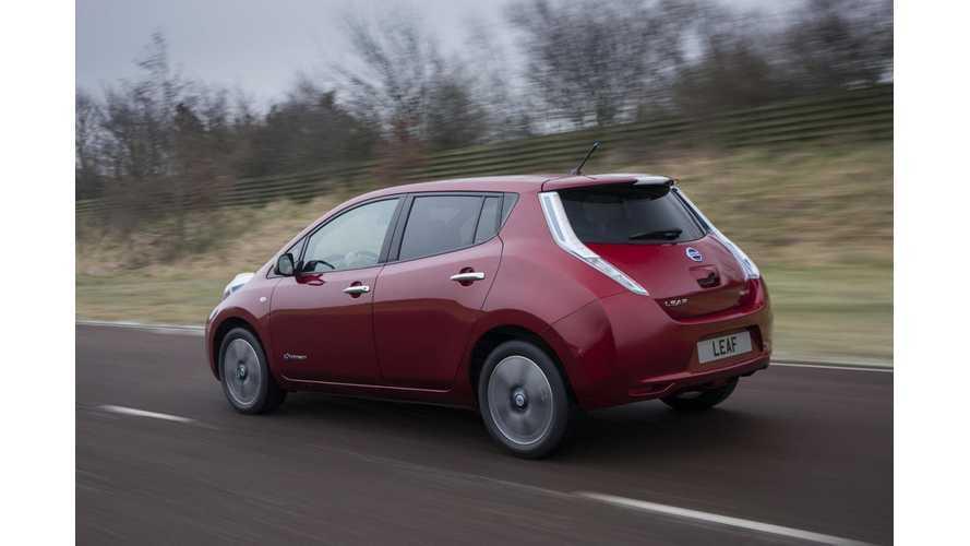 Test Drive: European-Spec 2013 Nissan LEAF Visia Base Model
