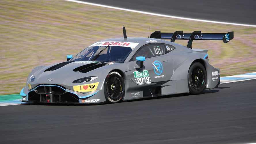 L'Aston Martin DTM effectue sa première sortie publique