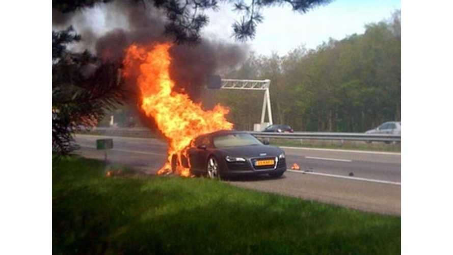 "Highway Vehicle Fires - A Primer On What ""Is Normal"" And An EV Battery Placement Walkthrough"