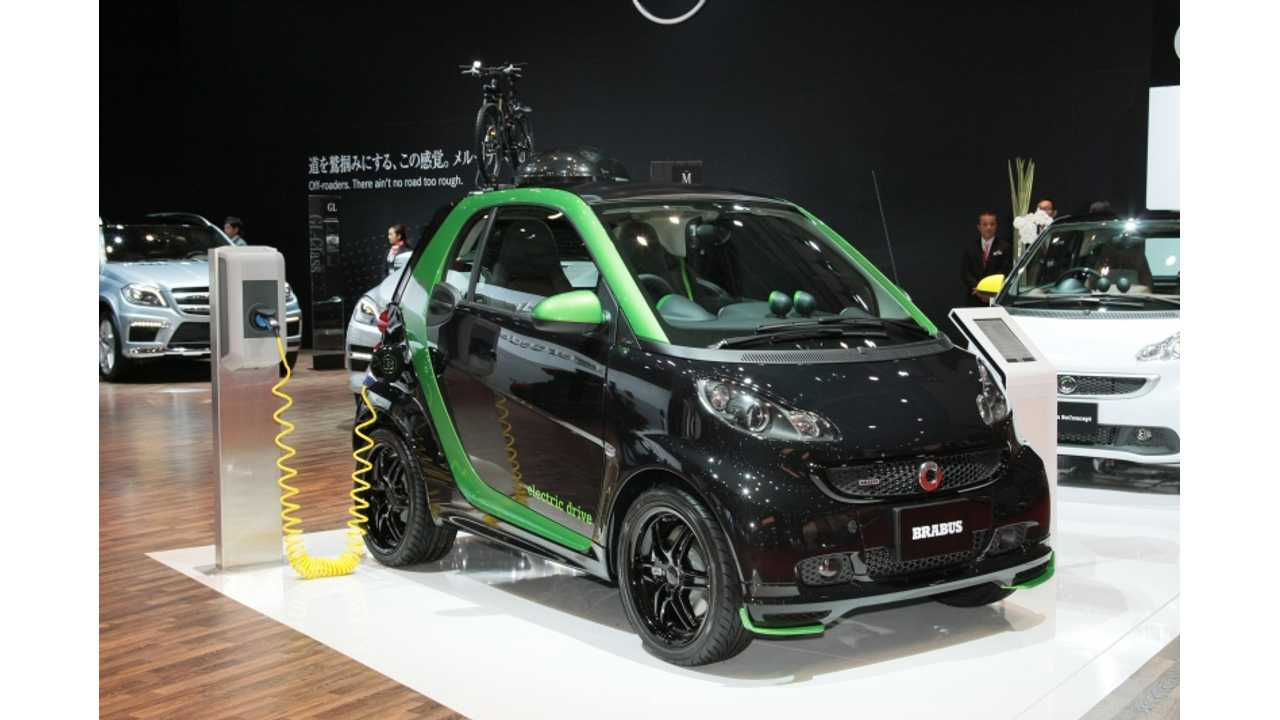 Smart Fortwo BRABUS Electric Drive at 2013 Tokyo Motor Show (Photos)