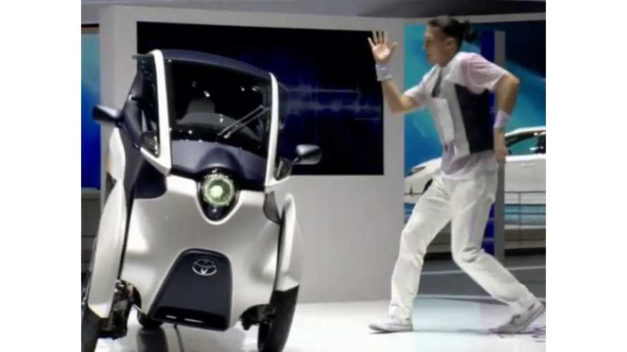Limited Production Toyota i-Road Now A 1 Seater