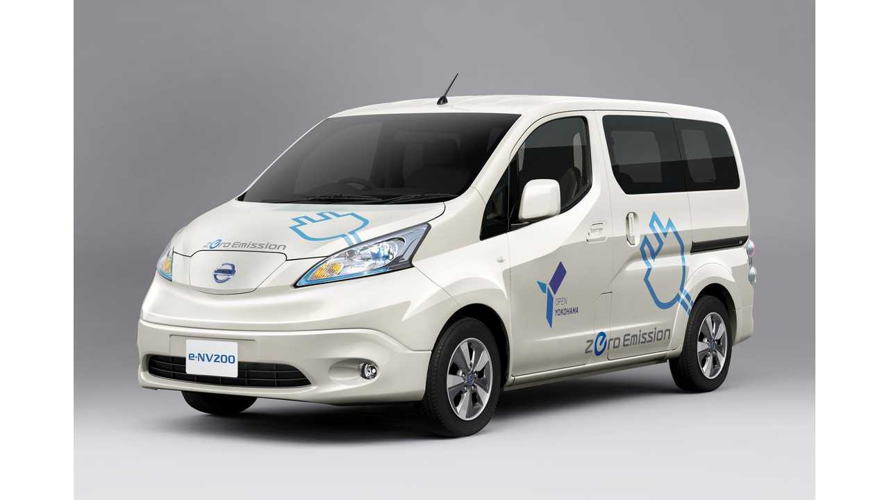 Nissan e-NV200 to