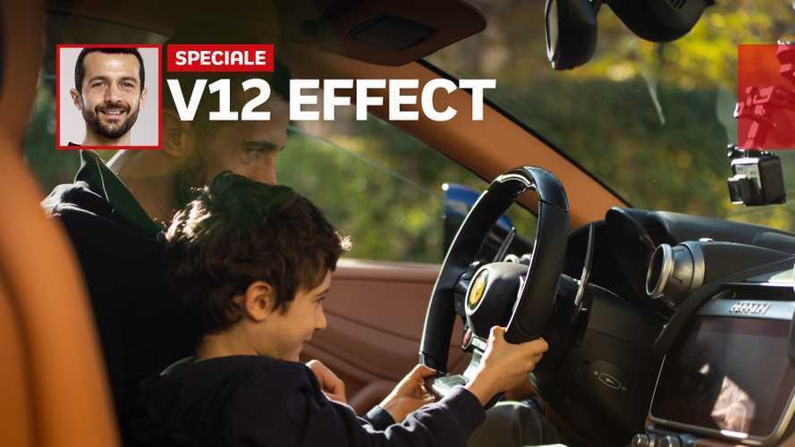 Ferrari V12, ecco l'effetto che fa su un bambino
