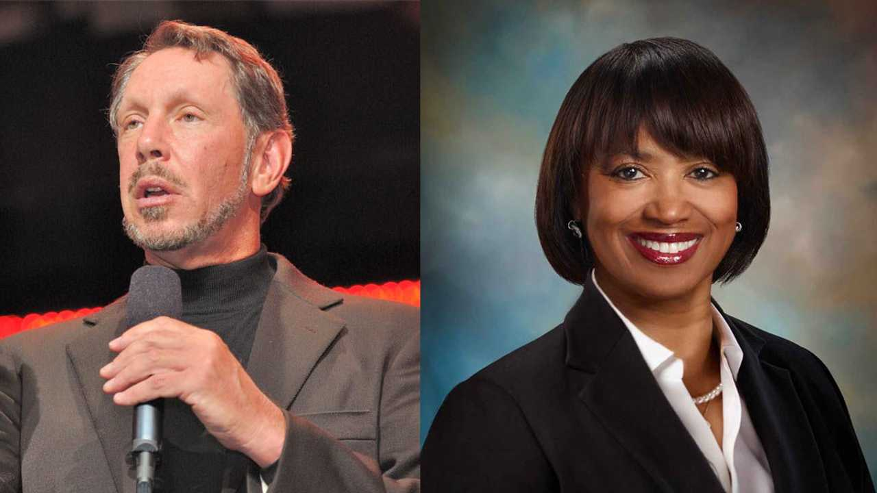 Larry Ellison ve Kathleen Wilson-Thompson