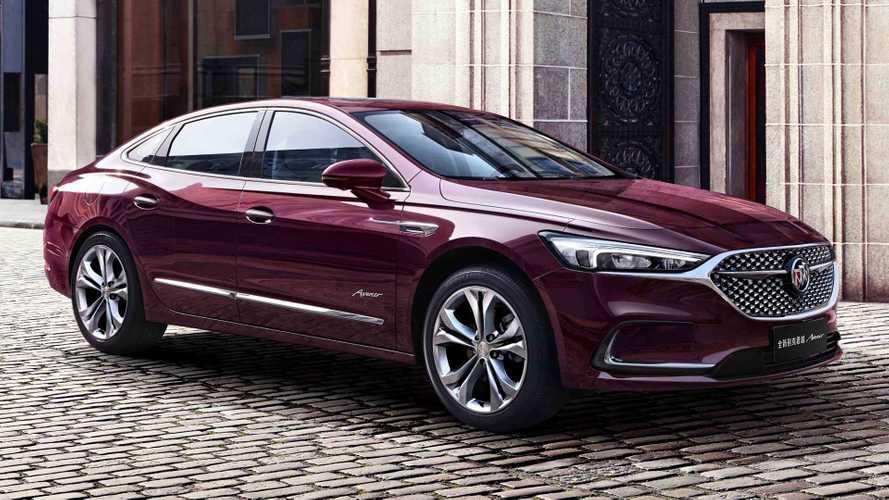 Buick Details China-Only LaCrosse, LaCrosse Avenir Facelift
