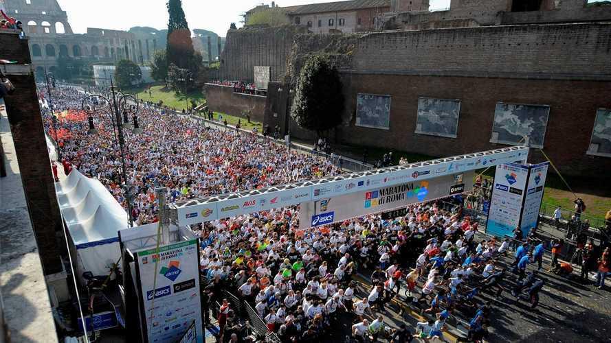 smart EQ è l'auto della Maratona di Roma 2019