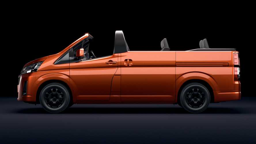 Unfortunately, Toyota HiAce Convertible Is For Australia Only