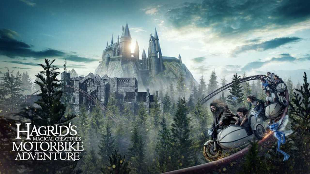 Harry Potter Hagrid Sidecar Ride