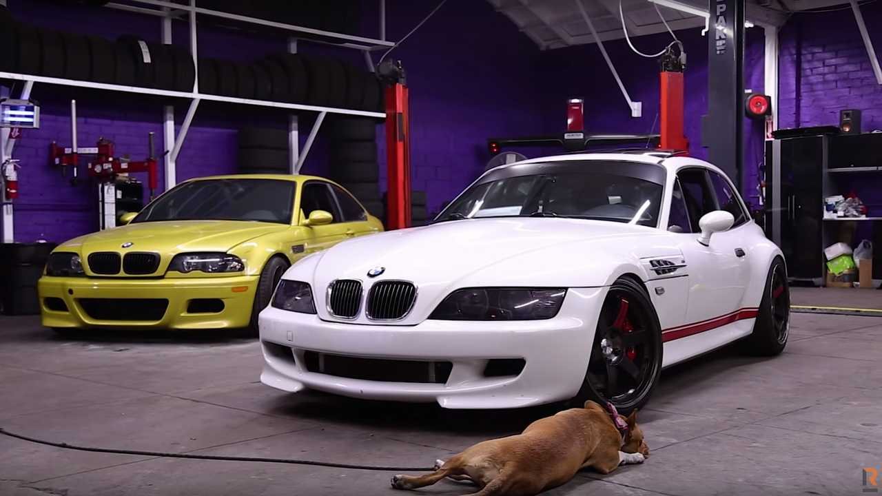 Custom BMW Z3M Coupe Roads Untraveled