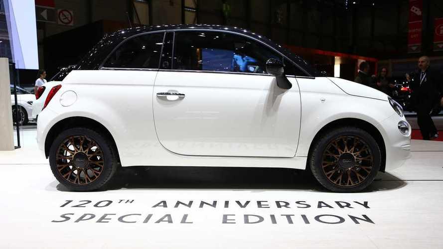 La edición especial 120 Aniversario de Fiat, en Ginebra