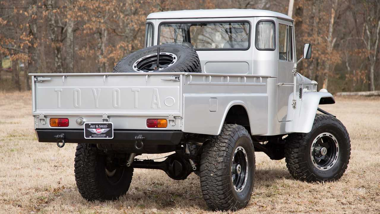 Restomod FJ45 Pickup Is The Model That Made Toyota | Motorious
