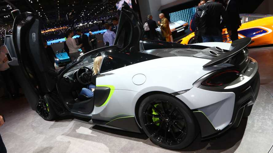 McLaren 600LT Spider at the 2019 Geneva Motor Show