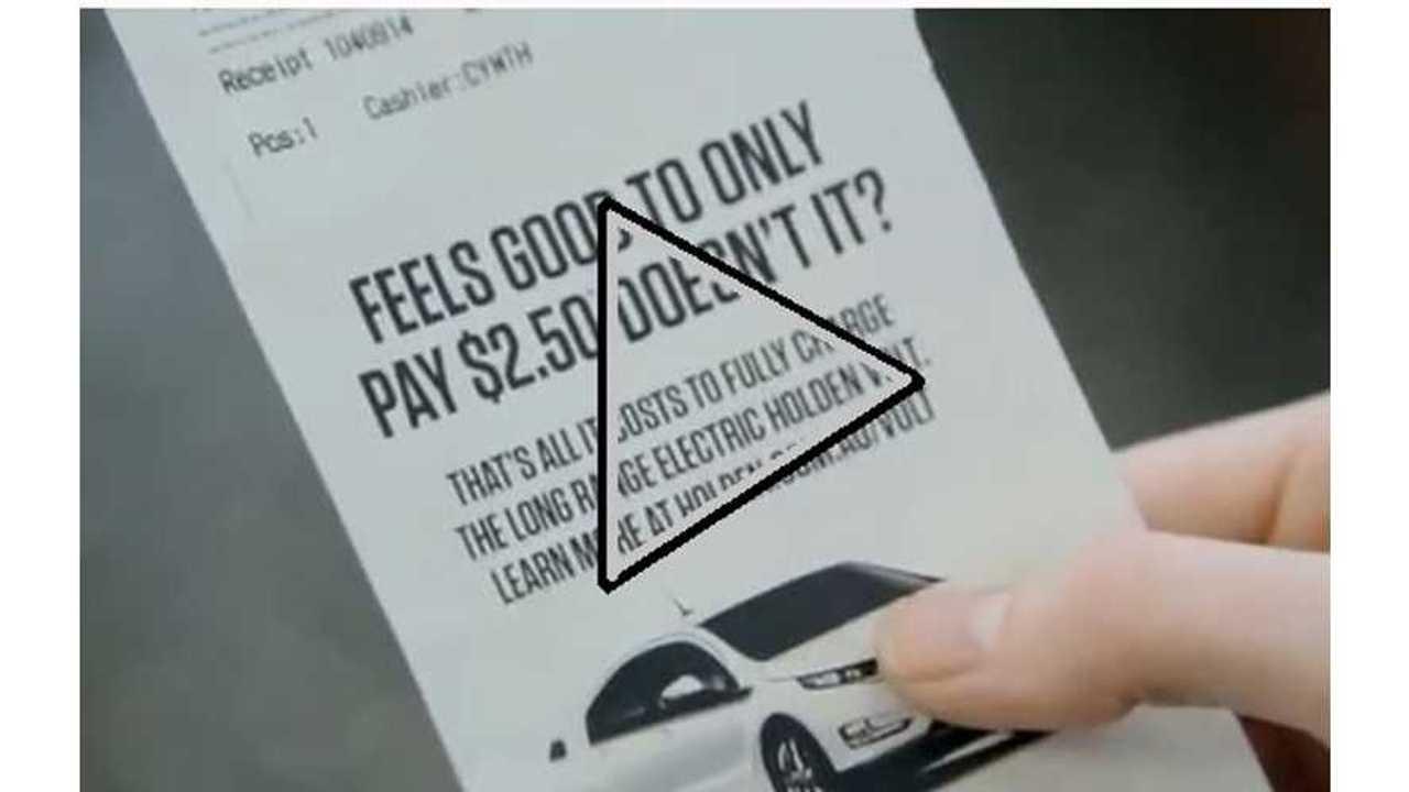 Video: Surprise...It's Just $2.50 to Fuel the Volt