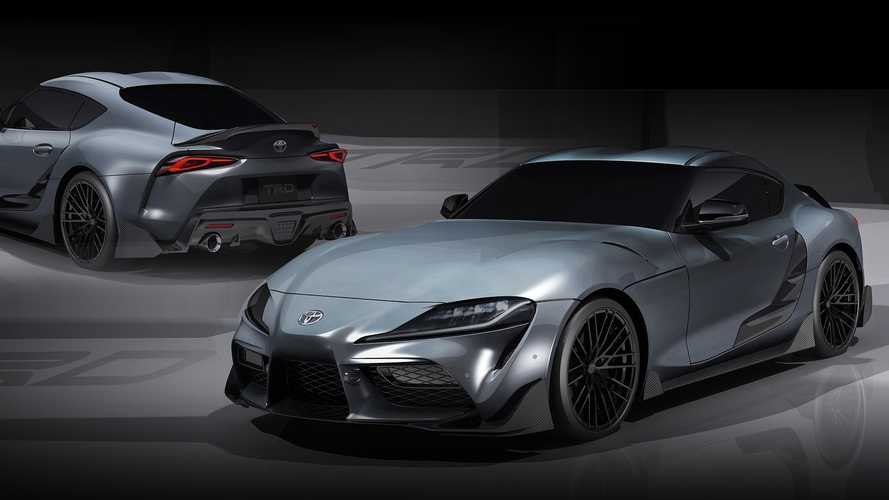 Toyota Supra TRD Concept debuts and it's more than just pretty