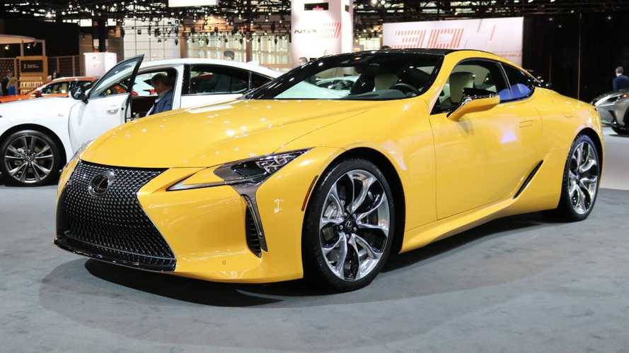 Lexus LC 500 Inspiration Edition Lands In Chicago [UPDATE]