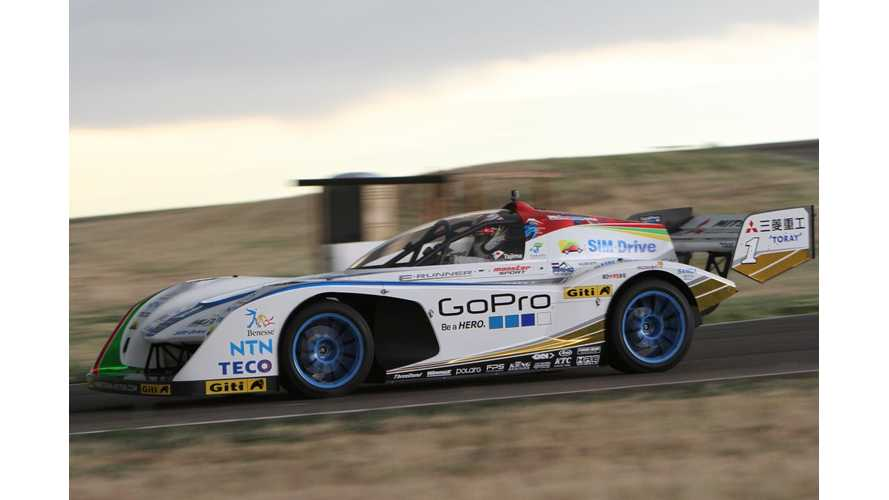 Video: Onboard Monster Tajima's E-RUNNER: The 2013 Pikes Peak Electric Class Winner