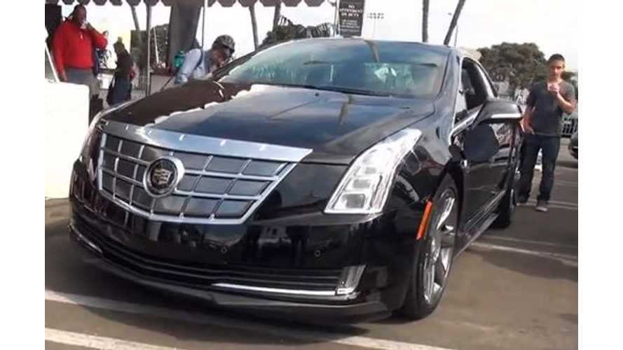 Video: Cadillac ELR Preview Event