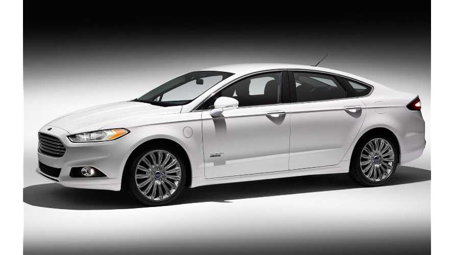 Ford Puts Rebates On Fusion Energi And C-Max Energi To Better Compete With New Volt Pricing