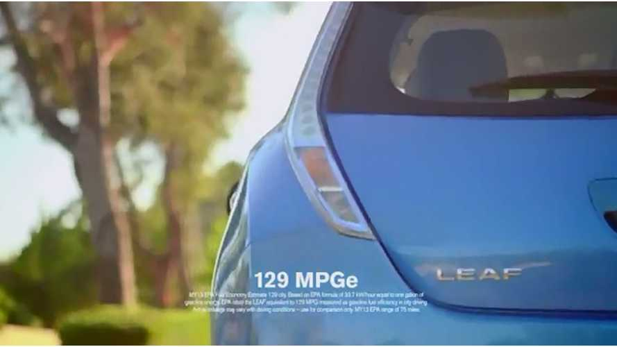 "New Nissan LEAF Spot: ""Errands"""