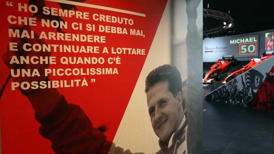 """""""Michael 50"""", la mostra dedicata a Schumacher è aperta"""