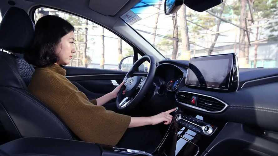 Hyundai équipe l'un de ses véhicules de l'identification par empreinte digitale
