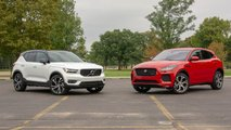 2019 volvo xc40 vs 2018 jaguar e pace comparison